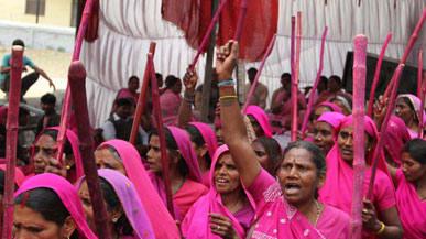 Meet the woman behind indias pink vigilantes m4hsunfo