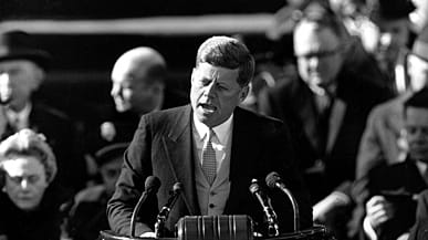 jfk years in office. John F. Kennedy Delivers His Inaugural Address After Taking The Oath Of Office At Capitol Hill In Washington, DC On Jan. 20, 1961. (Photo: AP Photo) Jfk Years