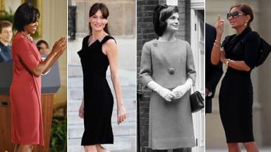 Michelle Obama Brings Back Jackie O 's Kitten Heels