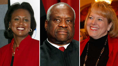 Clarence Thomas' Wife Calls Anita Hill: Why Ginni Did It