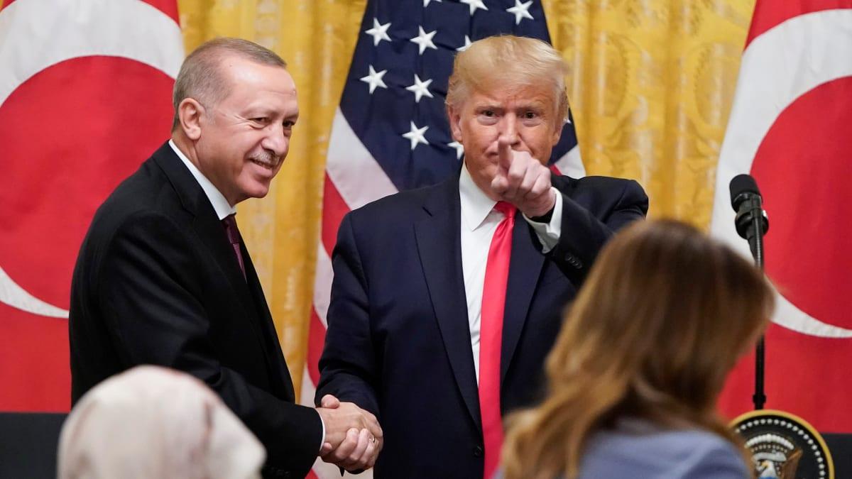 Erdogan Interrupted Trump White House Meeting to Play Anti-Kurd Video on His iPad for Senators, Axios Reports