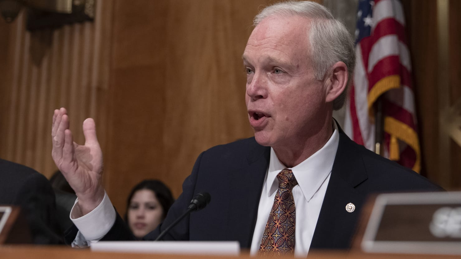 Sen. Ron Johnson: We Shouldn't Shut Down Economy Just Cause Up to 3.4% of Population Could Die