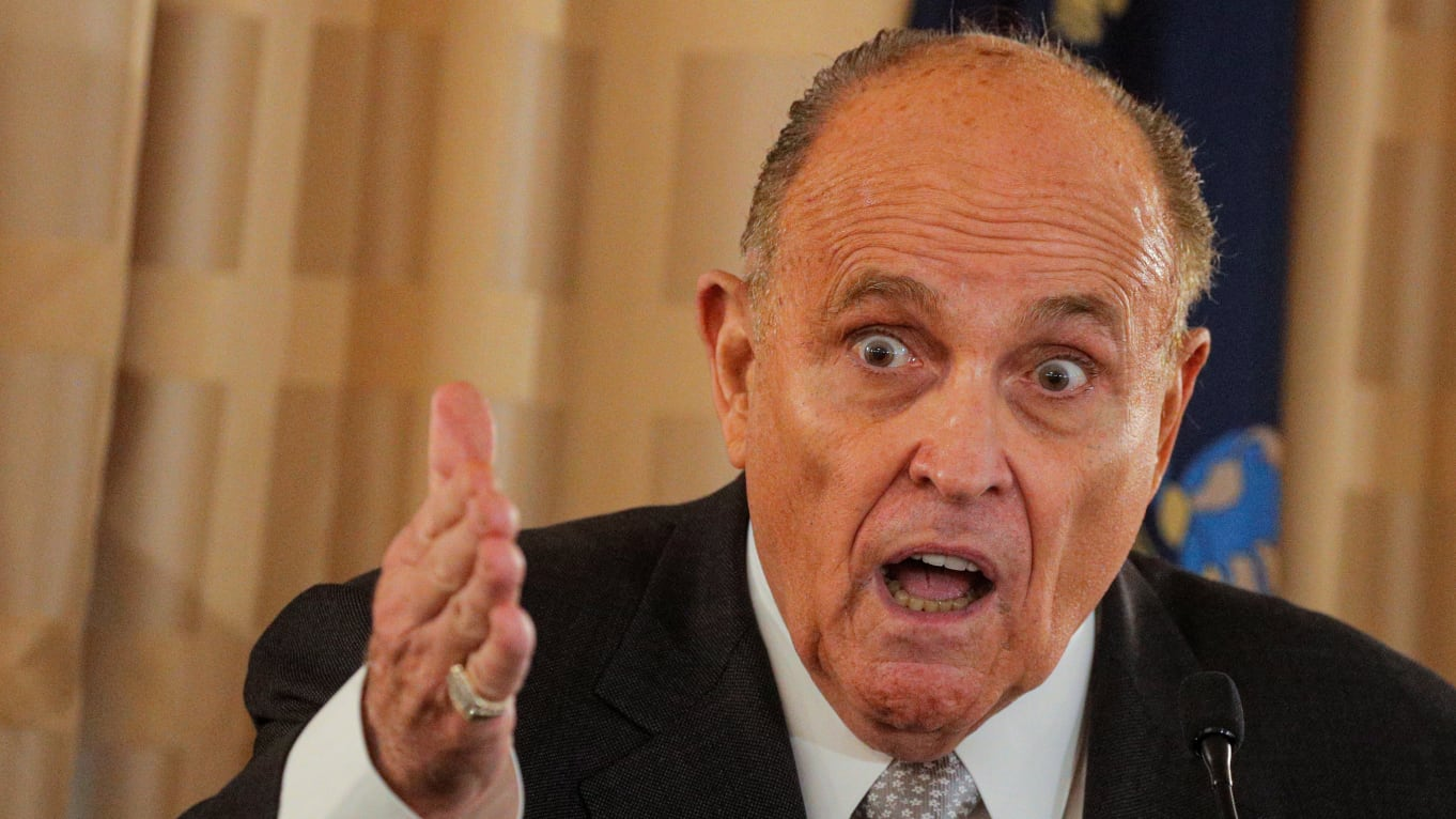 Rudy Giuliani Posts Footage of Himself Mocking Asians to YouTube