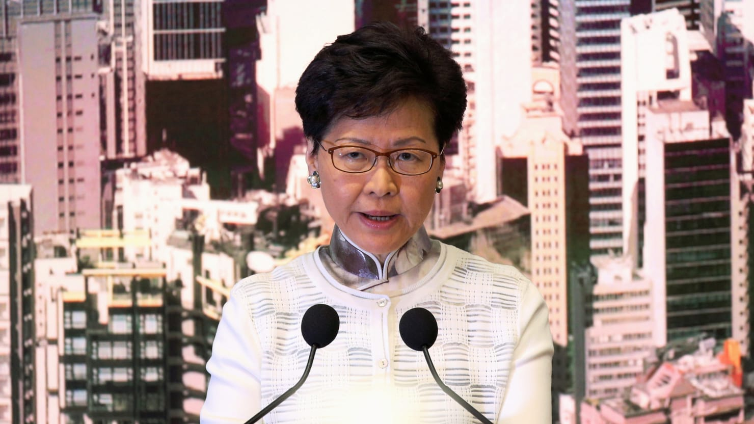 Hong Kong Leader Carrie Lam Suspends Controversial Extradition Bill