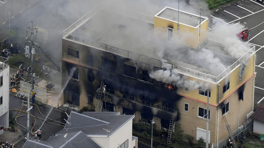 33 dead, dozens injured at Japan animation studio