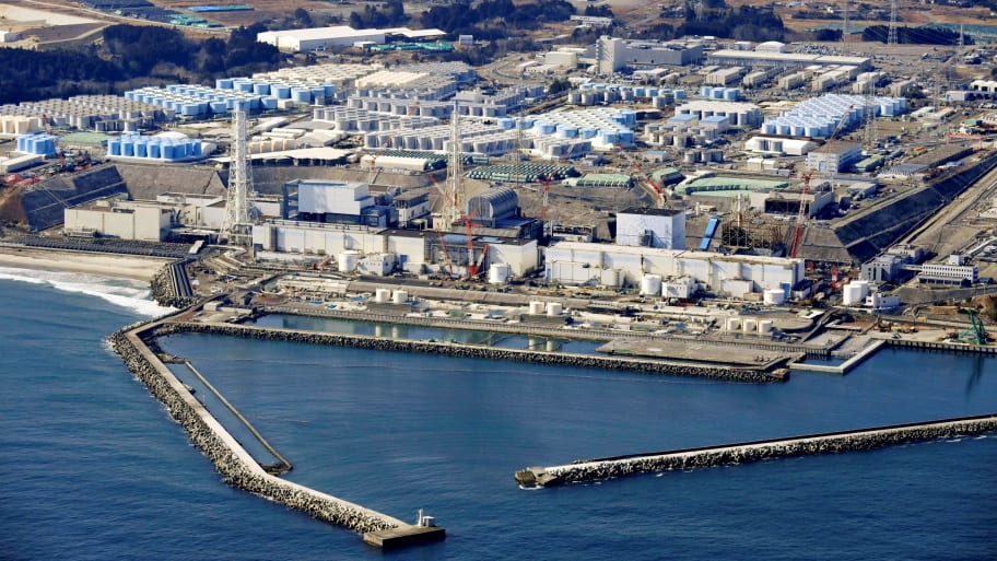 Japan Announces Dumping a Million Tons of Fukushima Wastewater Into the Sea