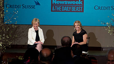 Katie Couric And Tina Brown Discuss The Best Advice I Ever Got