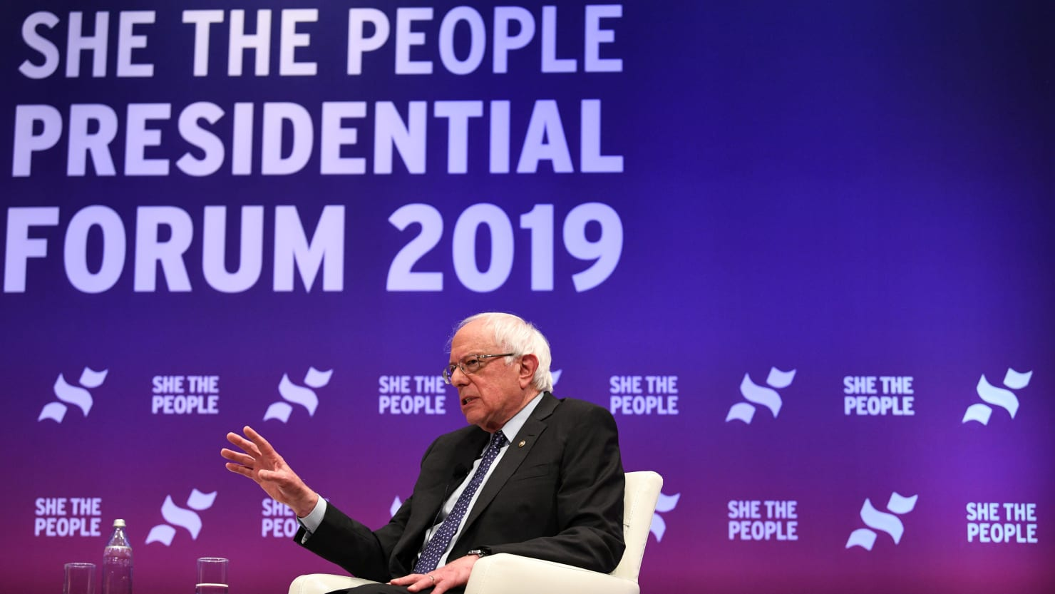 Bernie Sanders Met With Boos After Name-Dropping Martin Luther King at She the People Summit