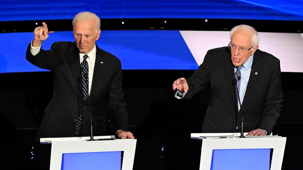 Biden and Sanders Spar Over Claim of 'Doctored' Video