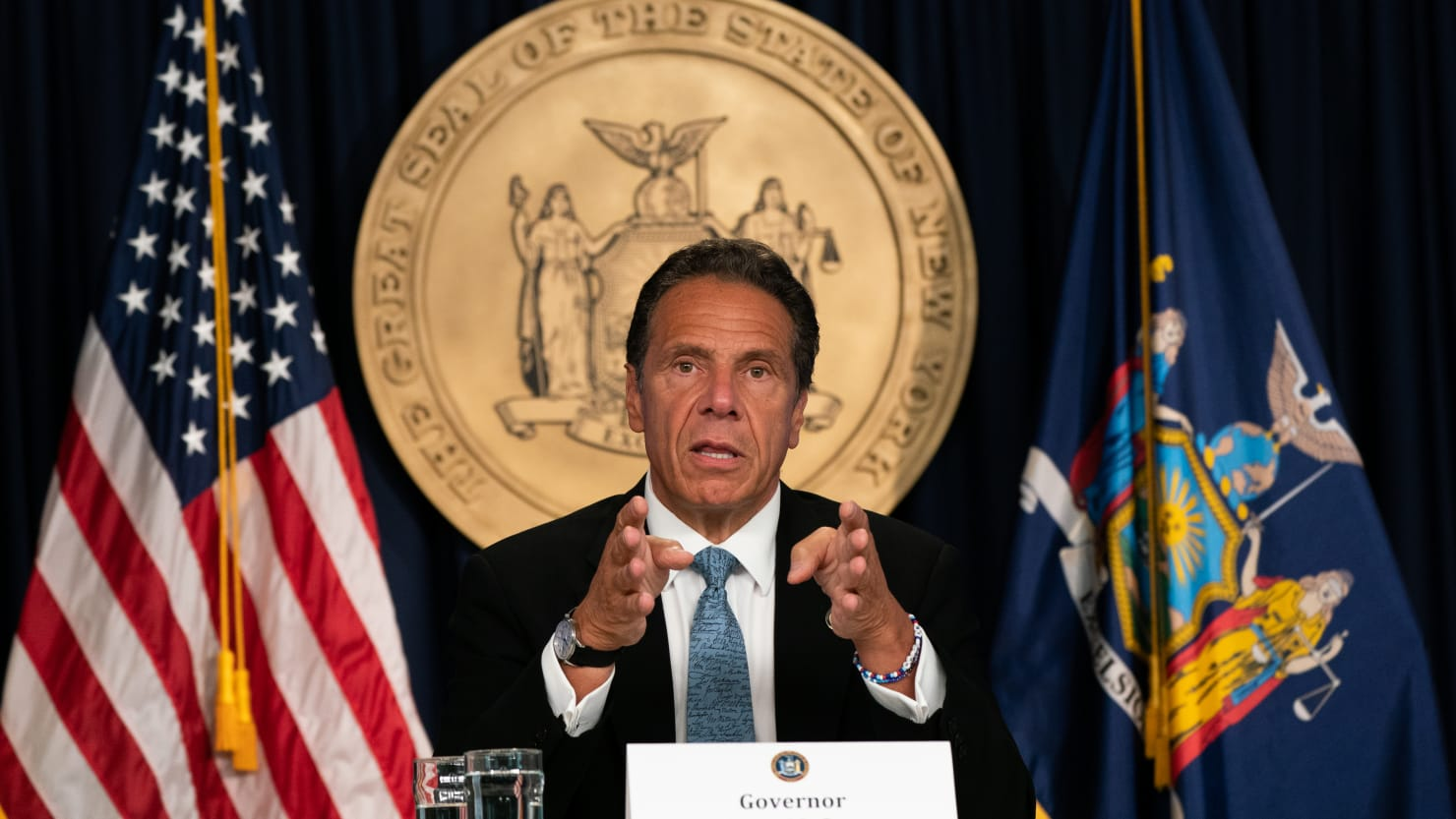 New York Gov. Andrew Cuomo Says Trump 'Better Have an Army' to Show His Face in NYC