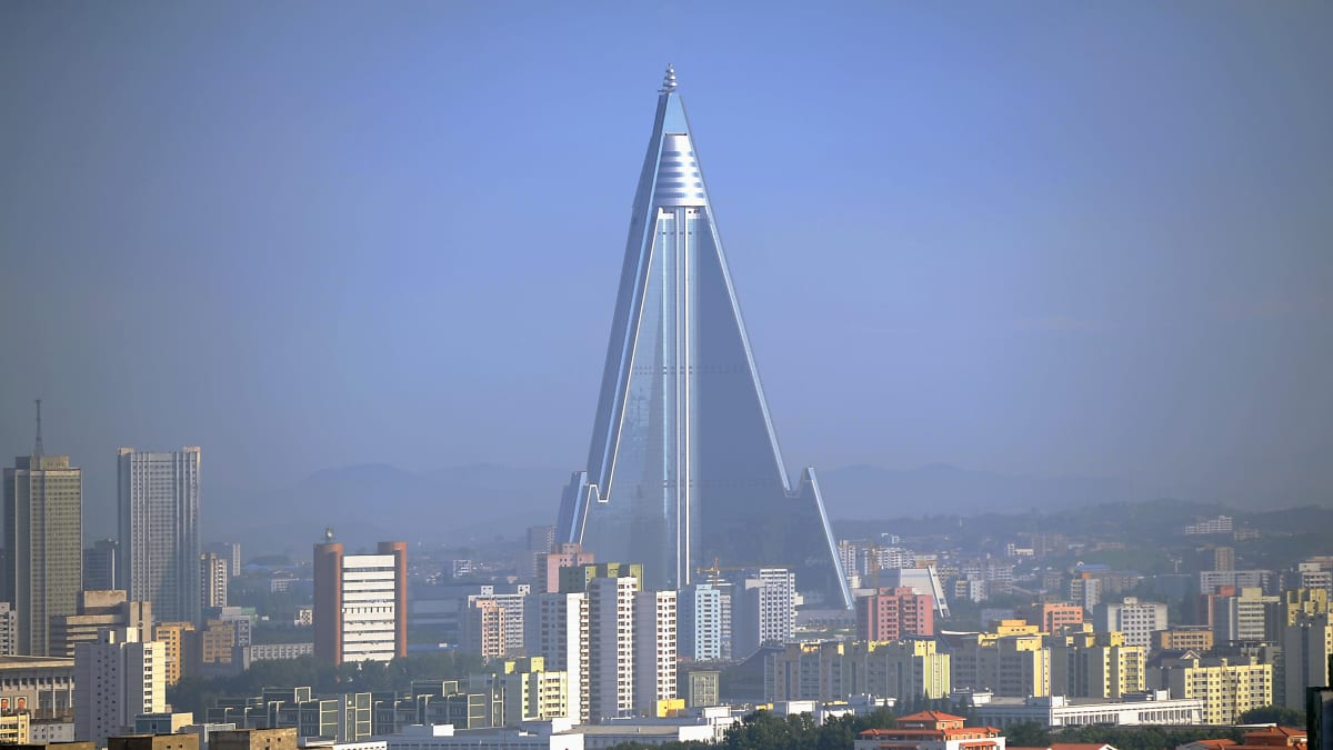 North Korea's Best Building Is Empty: The Mystery of the Ryugyong Hotel