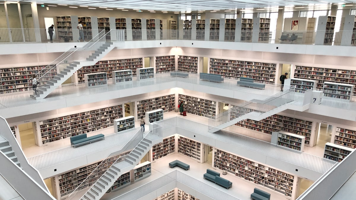 Stuttgart City Library: The World's Most Beautiful Libraries