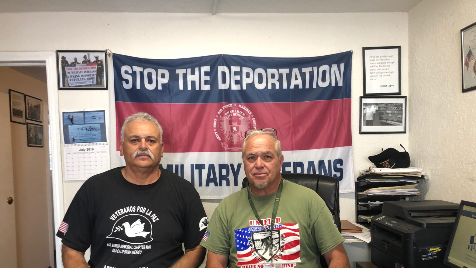 These Deported Veterans Say Rescuing Migrants Is Their Duty