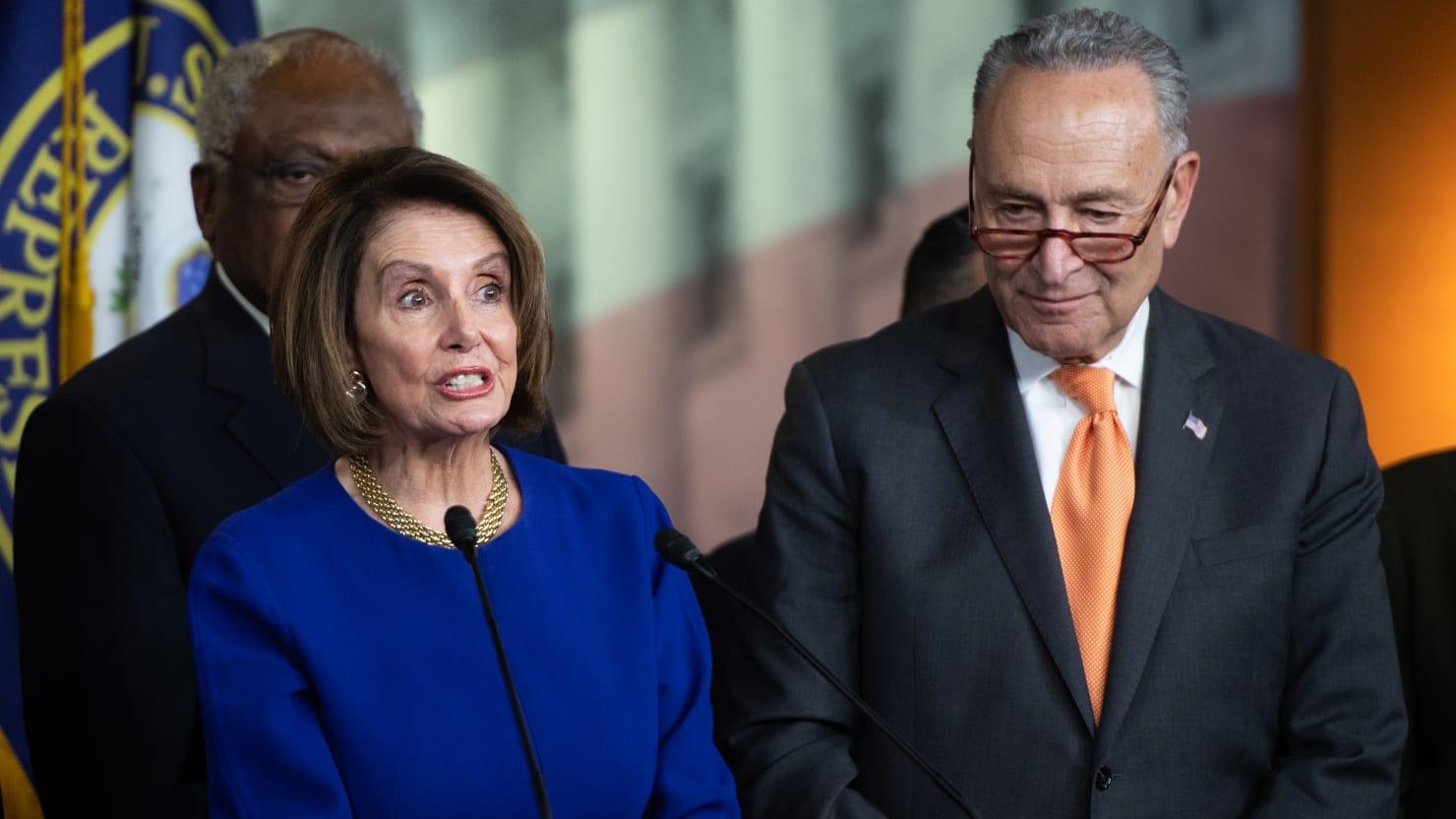 Nancy Pelosi, Chuck Schumer Clap Back at Trump: 'He Threw a Temper Tantrum'