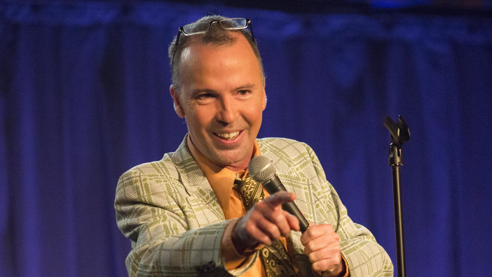 The 53-year old son of father (?) and mother(?) Doug Stanhope in 2021 photo. Doug Stanhope earned a  million dollar salary - leaving the net worth at  million in 2021