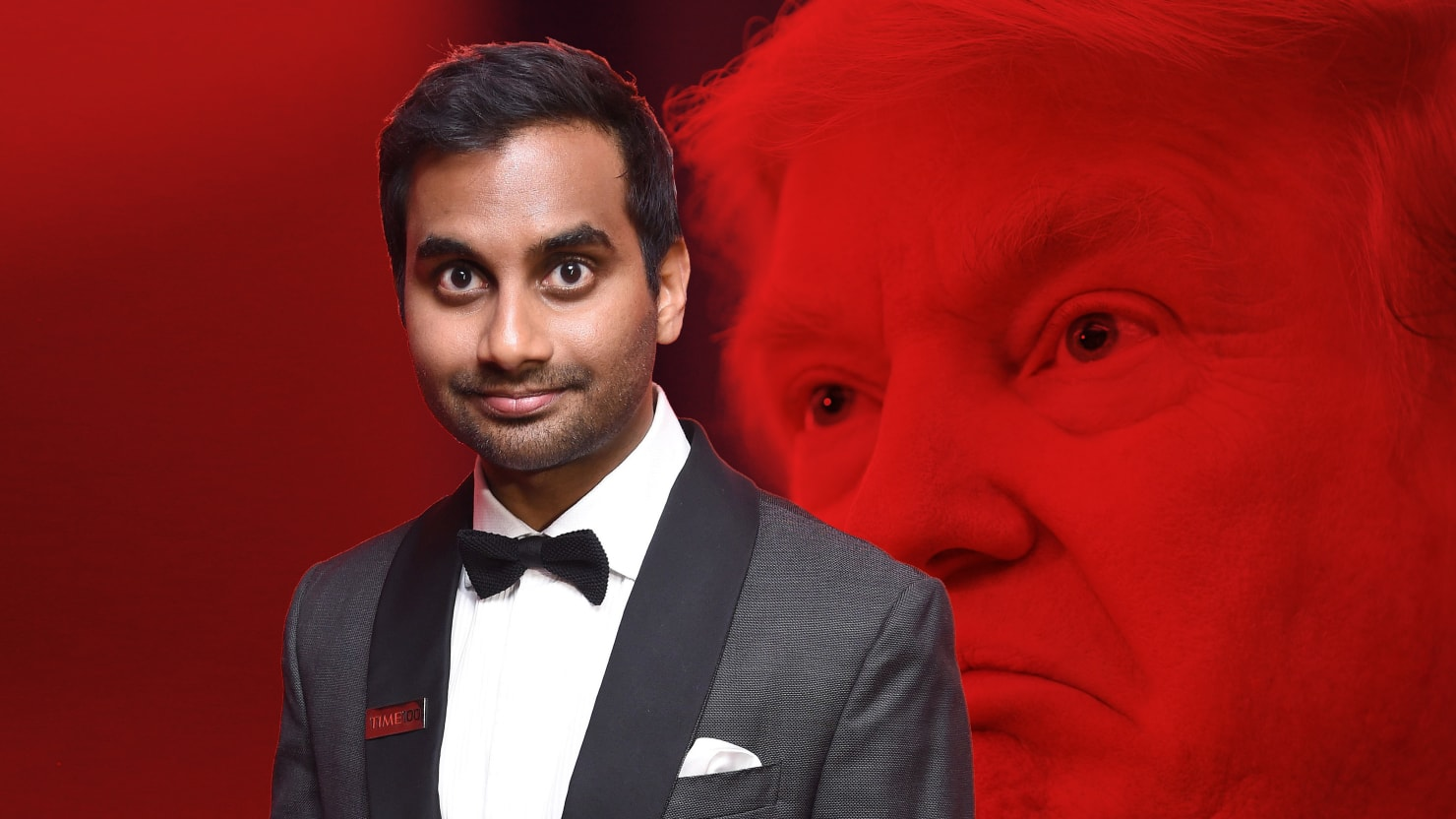 Aziz ansari pens scathing op ed denouncing trumps anti muslim hate photo illustration by brigette supernovathe daily beast aziz ansari stopboris Choice Image