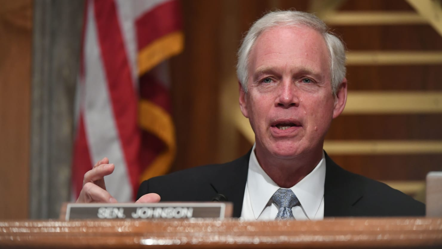 GOP Senator Ron Johnson Tests Positive for Coronavirus