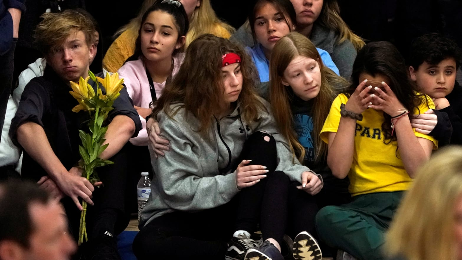 STEM School Shooting: Students Walk Out of Vigil Organized by Team Enough and Moms Demand Action