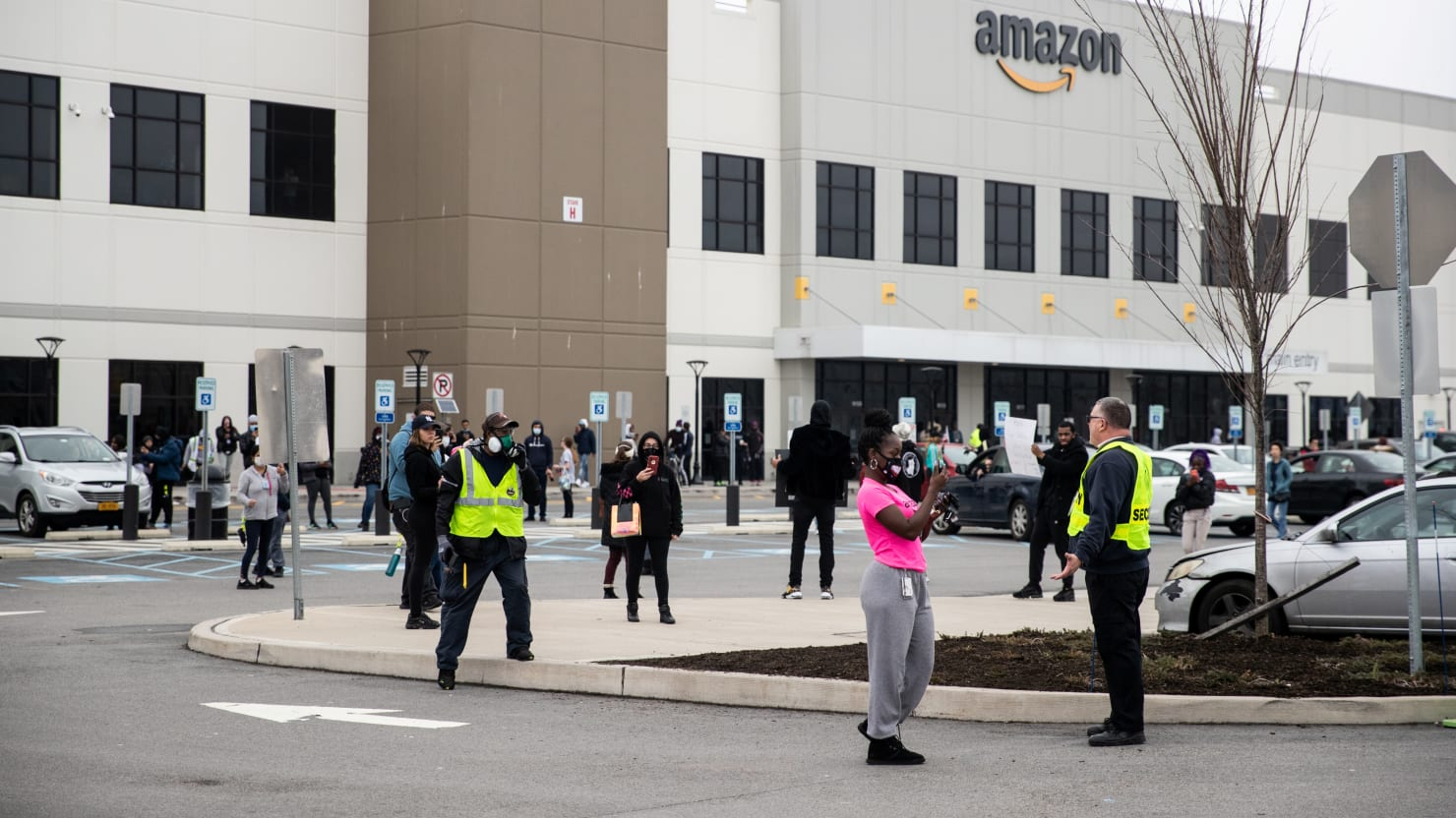 Worker: Amazon Fired Me for Leading Strike at NYC Warehouse Over Coronavirus