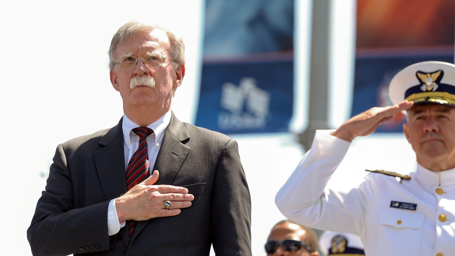 John Bolton Says North Korea Missile Testing Violates UN Resolutions