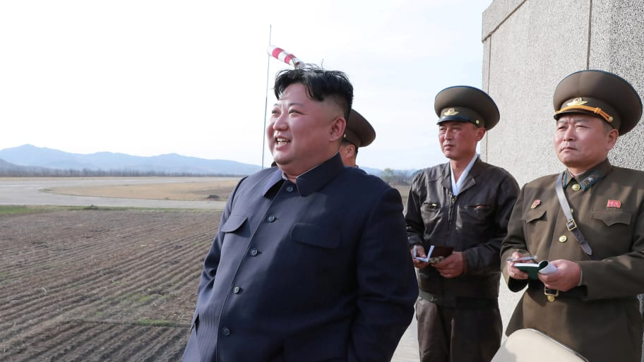 North Korea test fires tactical missile