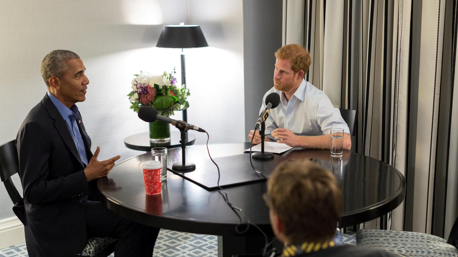 Prince Harry and Barack Obama in Conversation on the BBC