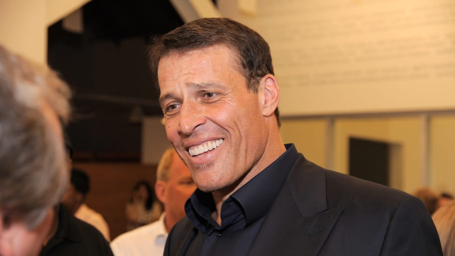 Tony Robbins' Book Dropped by Simon & Schuster Amid Sexual-Misconduct Allegations