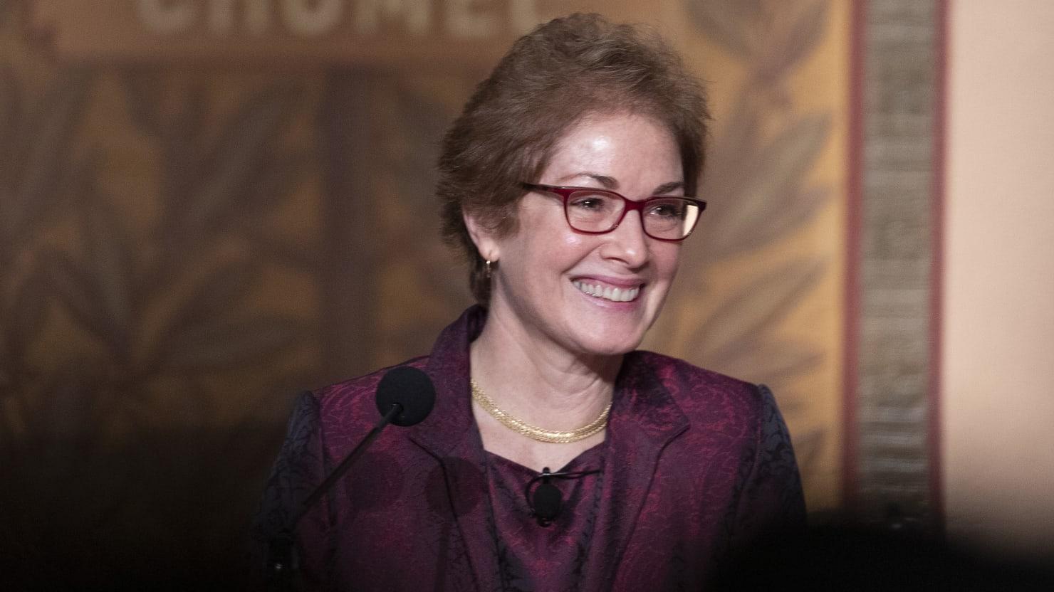 Ex-Ambassador to Ukraine Marie Yovanovitch Nabs Book Deal