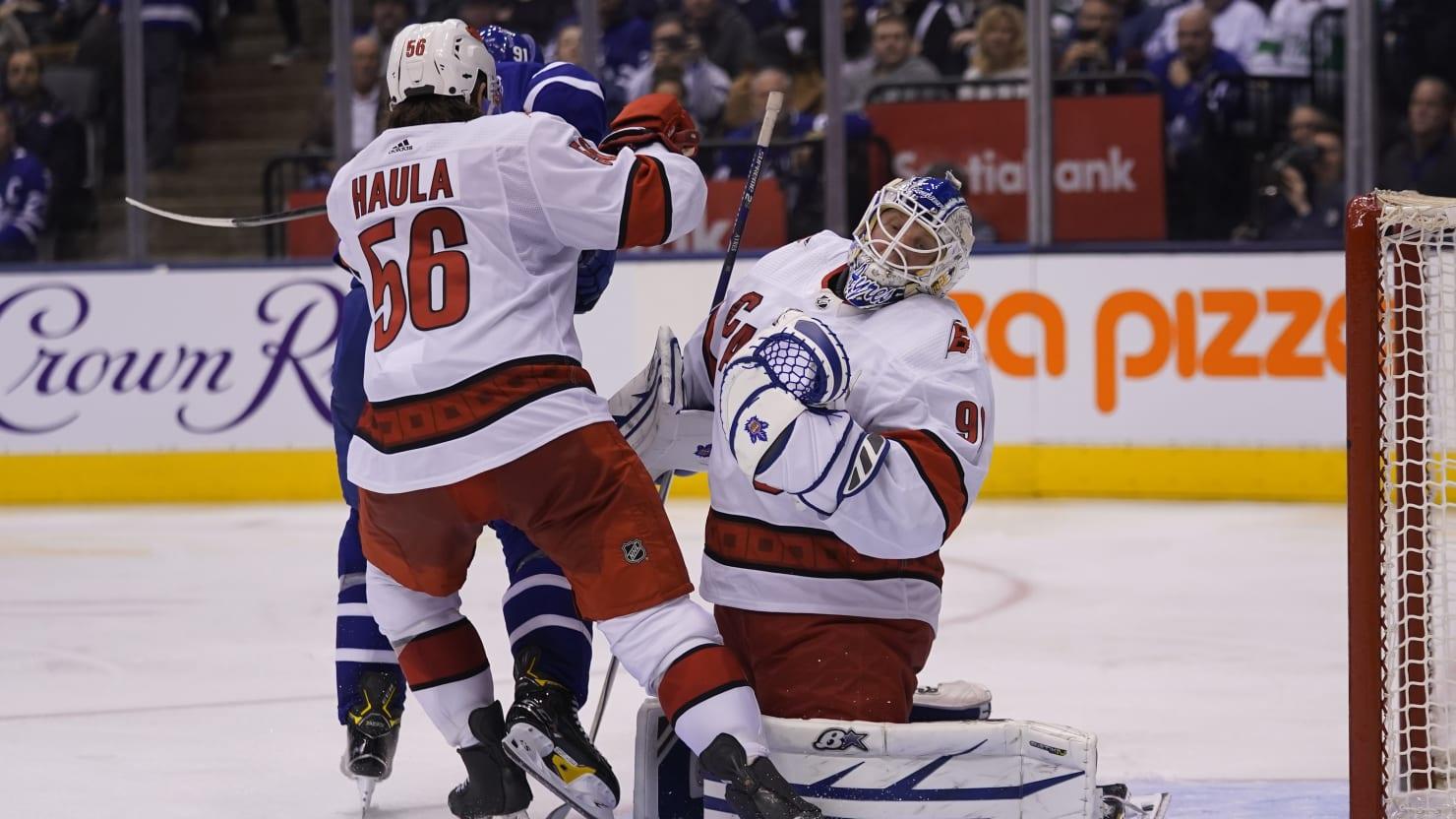 Zamboni Driver Leads NHL's Hurricanes to Victory as Emergency Goalie