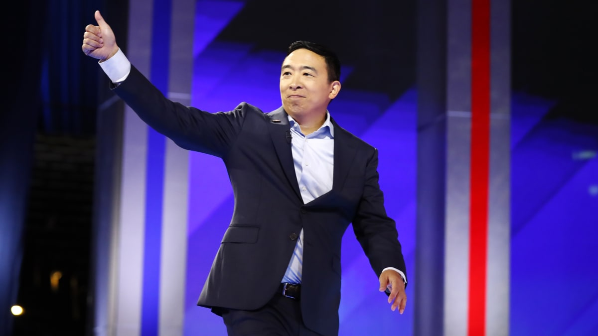 Andrew Yang Scoops Up Bernie Sanders' Old Ad Man