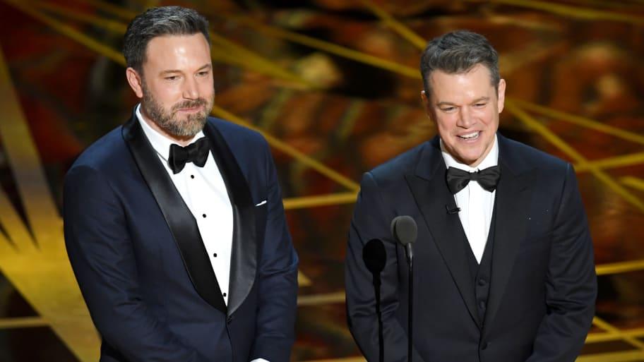 Ben Affleck, Matt Damon to Write, Star in Film in Which No One Believes Woman's Rape Claim: Report