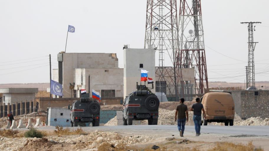 Russia Says Its Troops Are Patrolling Area of Northern Syria Deserted by Trump