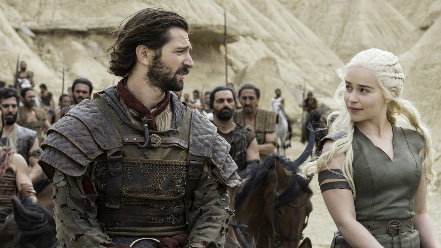 Game of Thrones' Daario Naharis on What It's Like to Get ... Daario Naharis Game Of Thrones