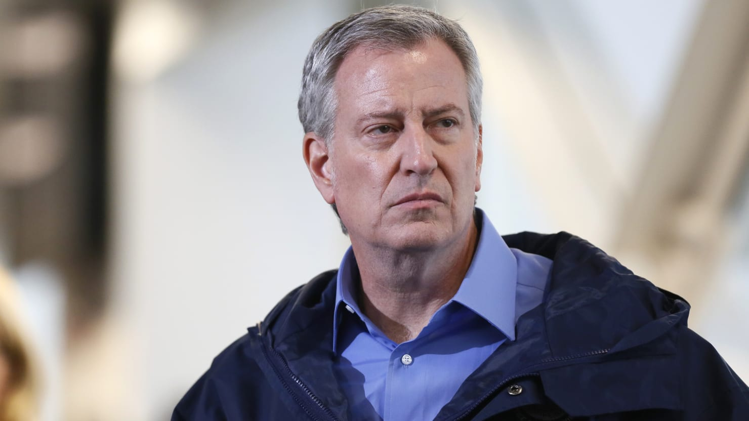 De Blasio: I Don't Blame Police for Driving Into Protesters