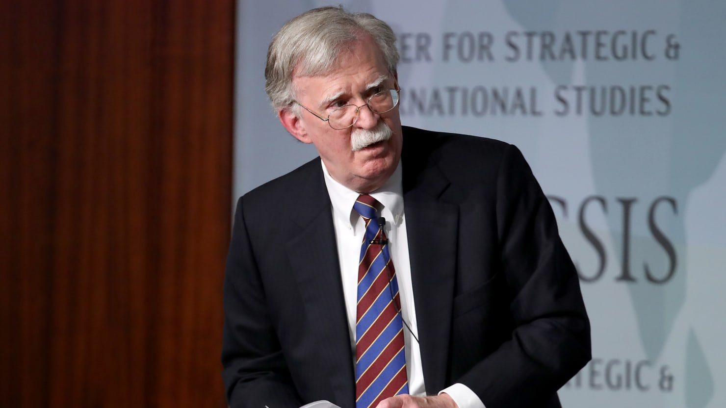John Bolton Blasts 'Failed' Trump Policies (That He Helped Implement)