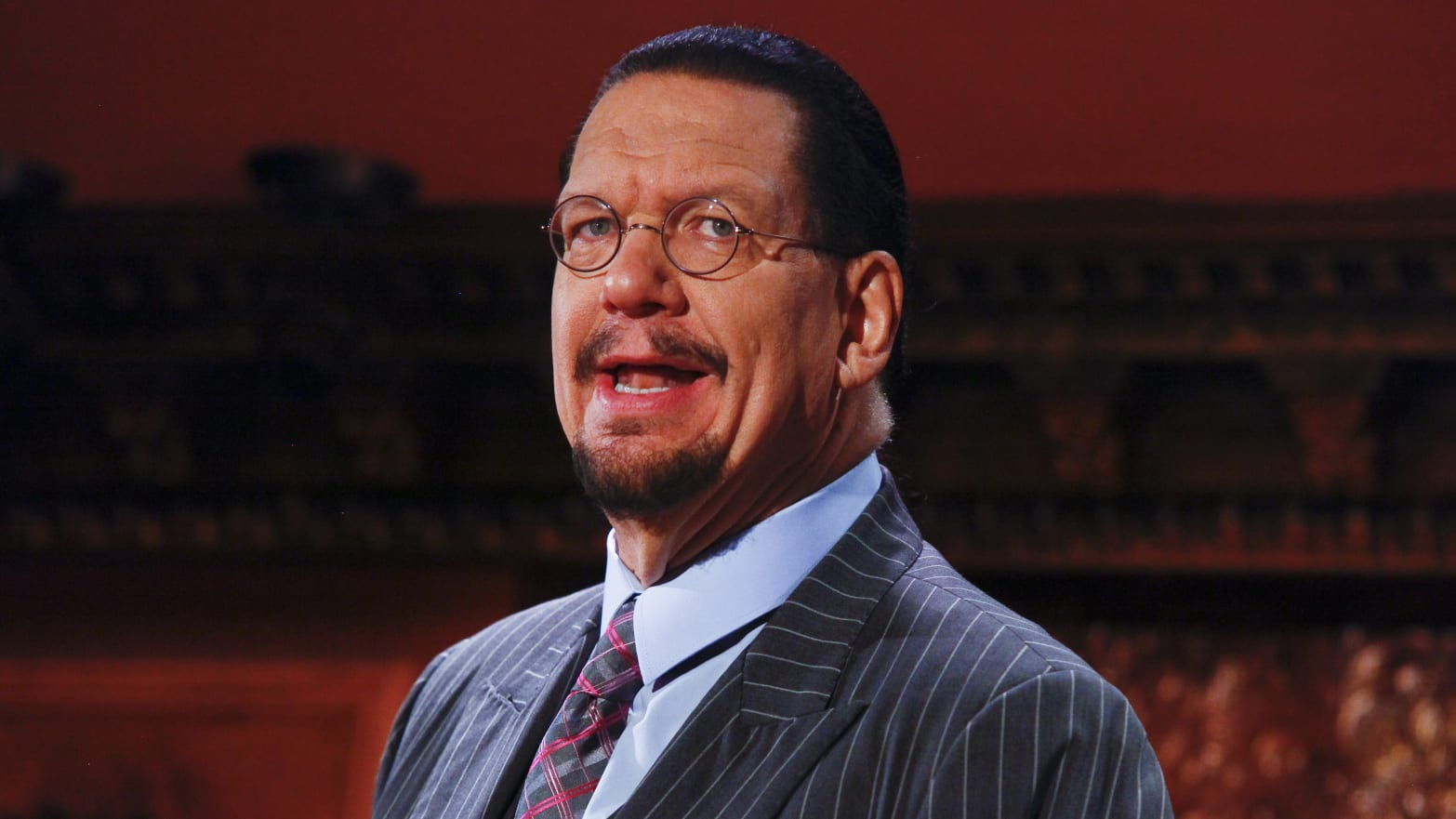 Penn Jillette Is Against Clinton and Trump—and Dying While