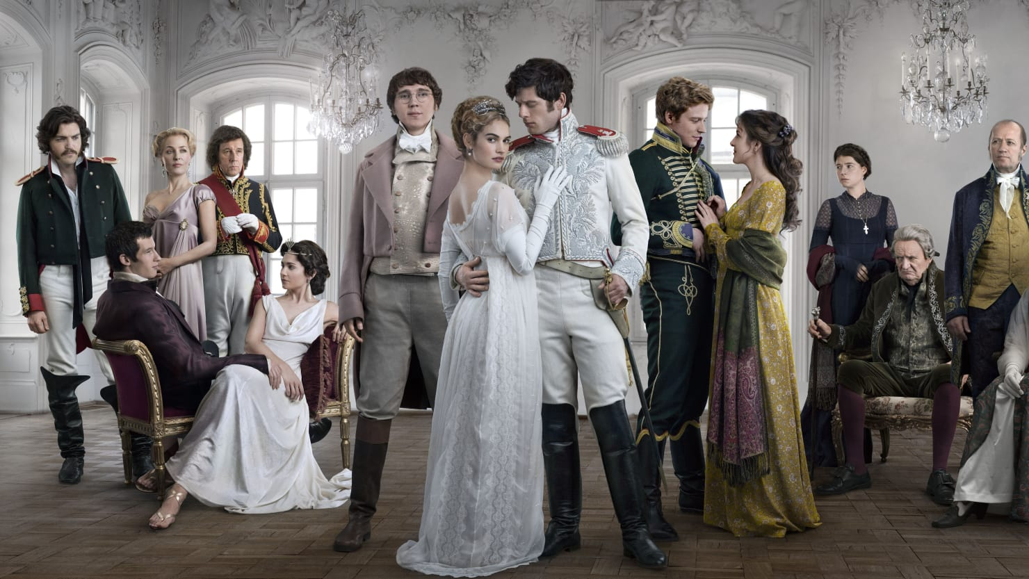 'War and Peace': Incest and Fruit-Smashing Sex with Style to Spare