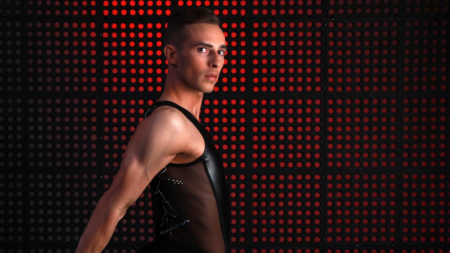 adam rippon team usa saturday night live ice skating snl host men mens gay figure skating