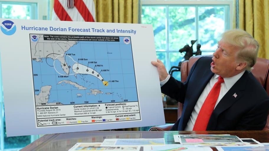 NOAA Warned Employees Not to Contradict Trump Over Hurricane Dorian