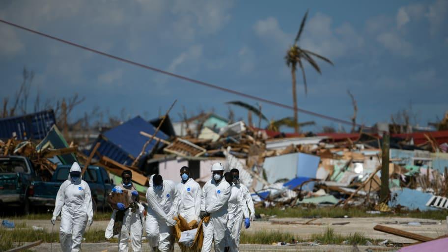 Hurricane Dorian Death Toll in Bahamas Hits 50, Thousands