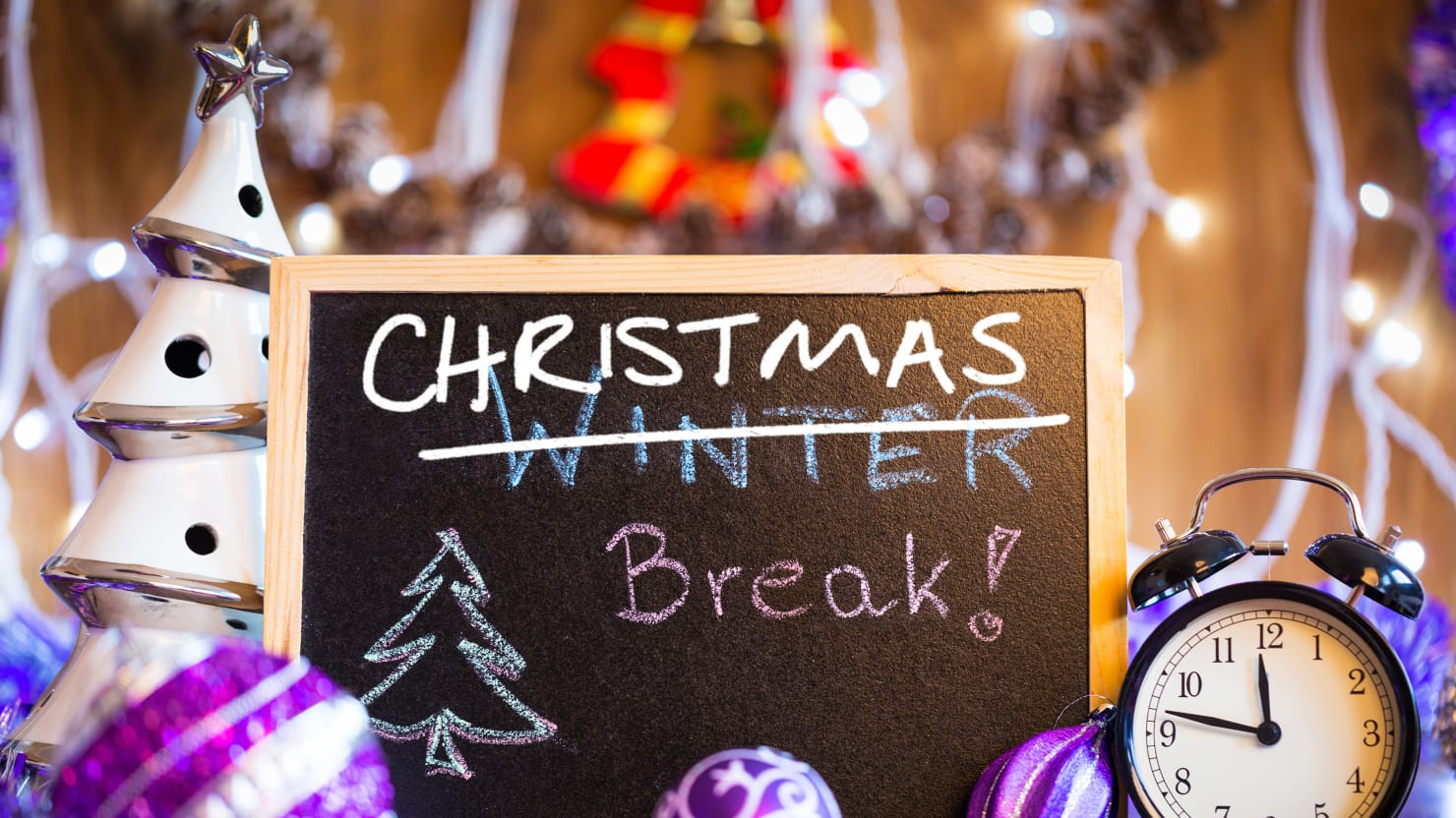 shutterstockphoto illustration by the daily beast - When Does School Start Back After Christmas Break