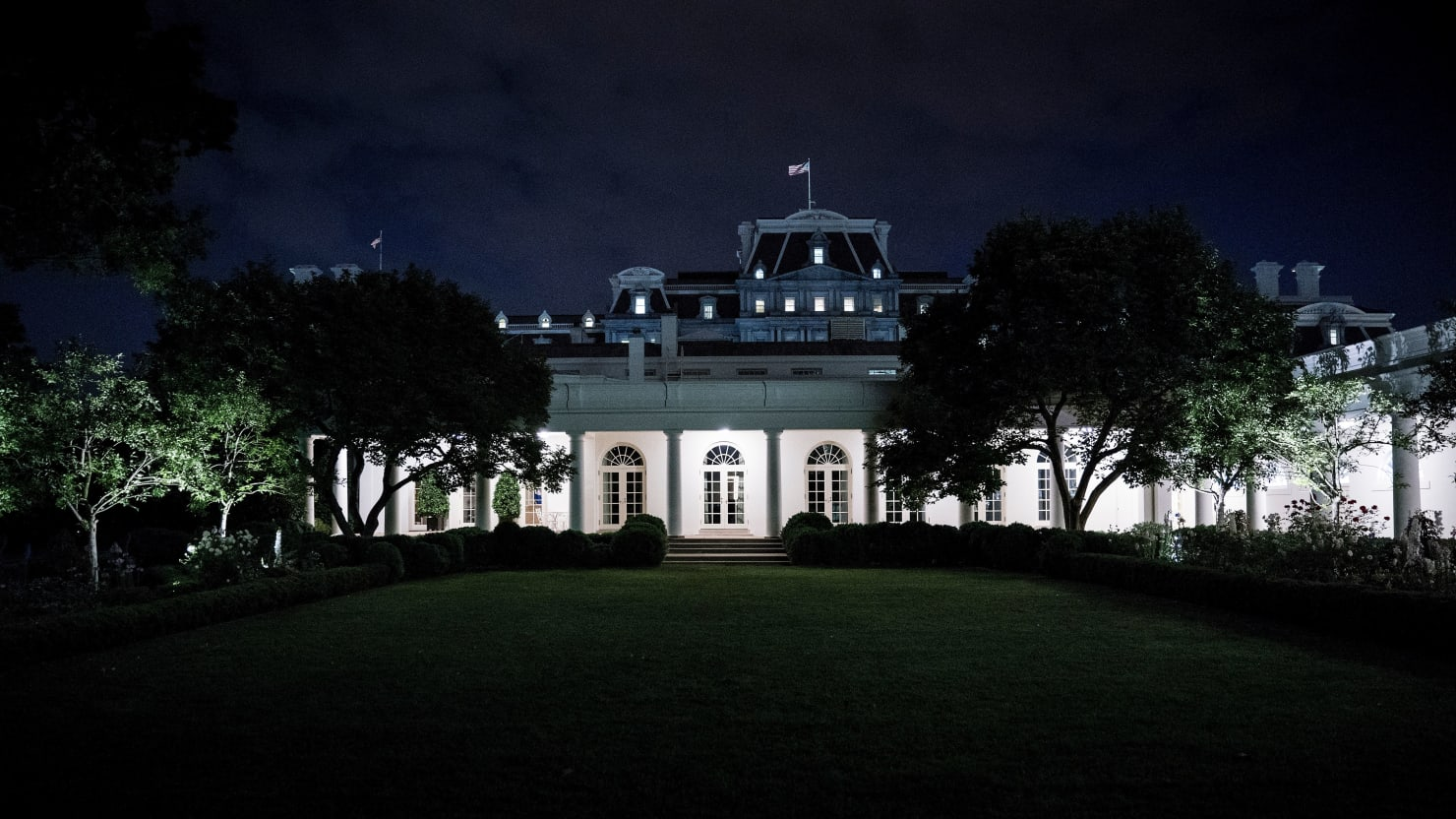 Secret Service Stops Person Trying to Jump White House Security Barrier