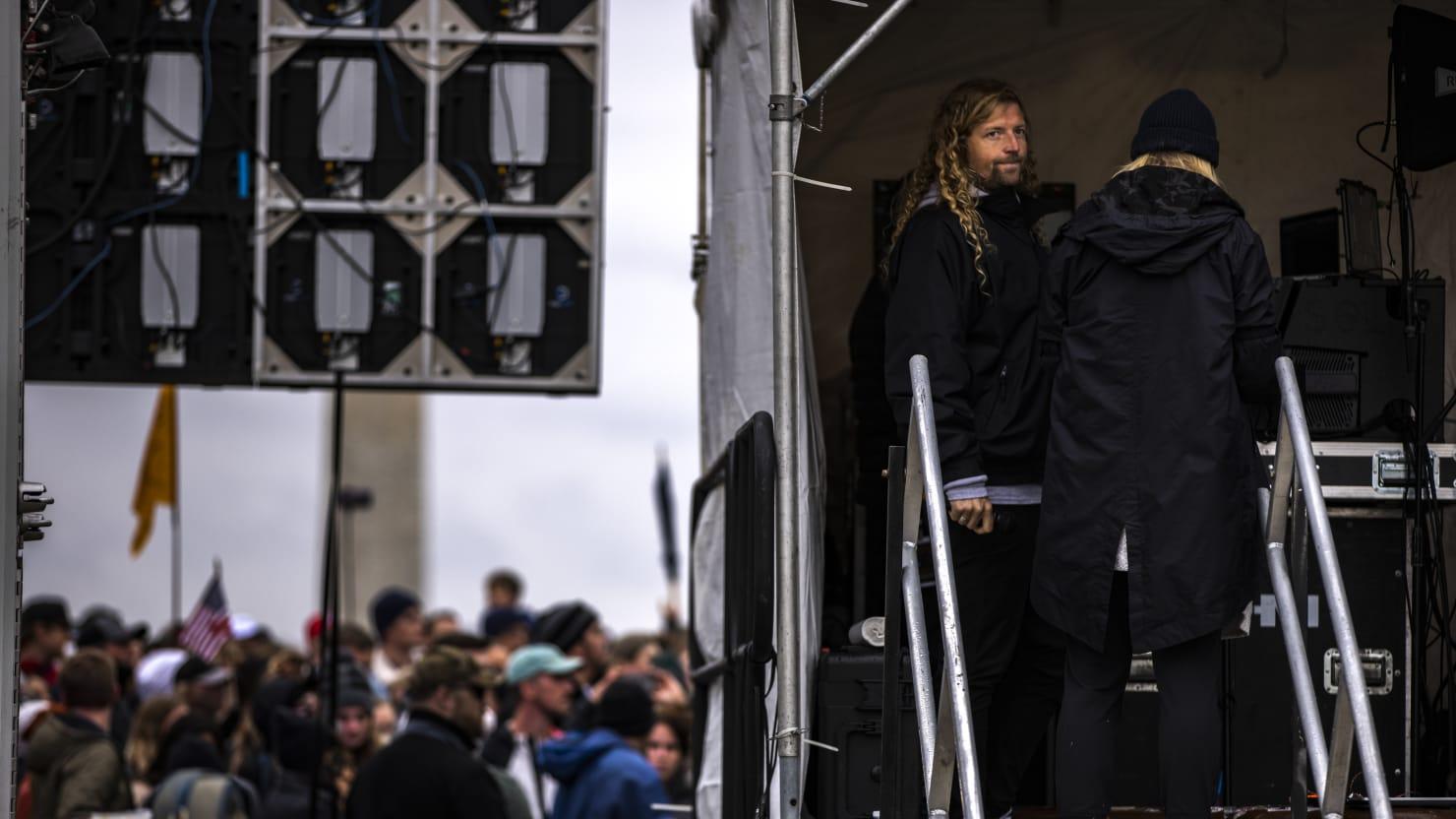 Church Leader Sean Feucht Visits White House During 'Superspreader' Tour