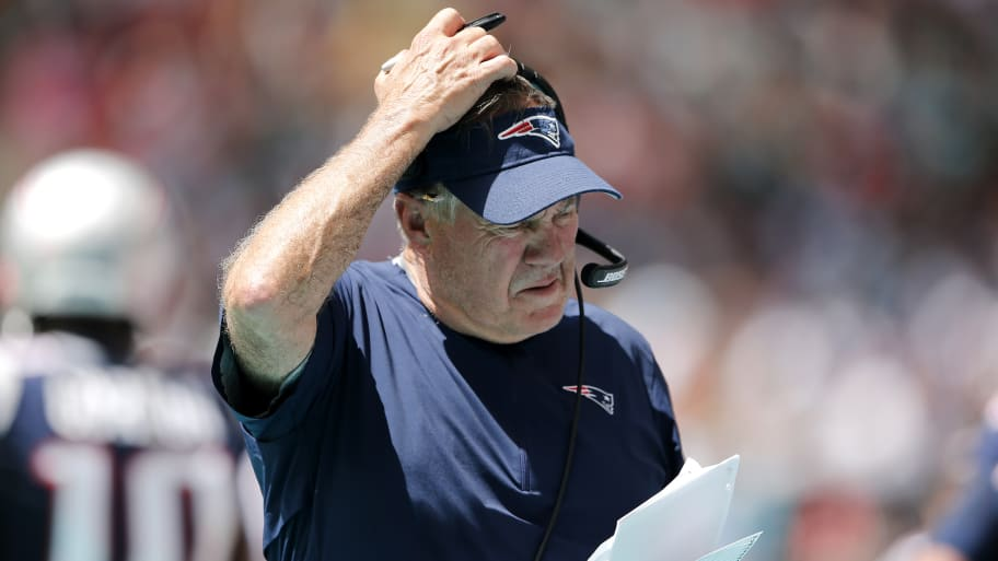 New England Patriots Head Coach Bill Belichick Walks Out of Press Conference Over Antonio Brown Questions