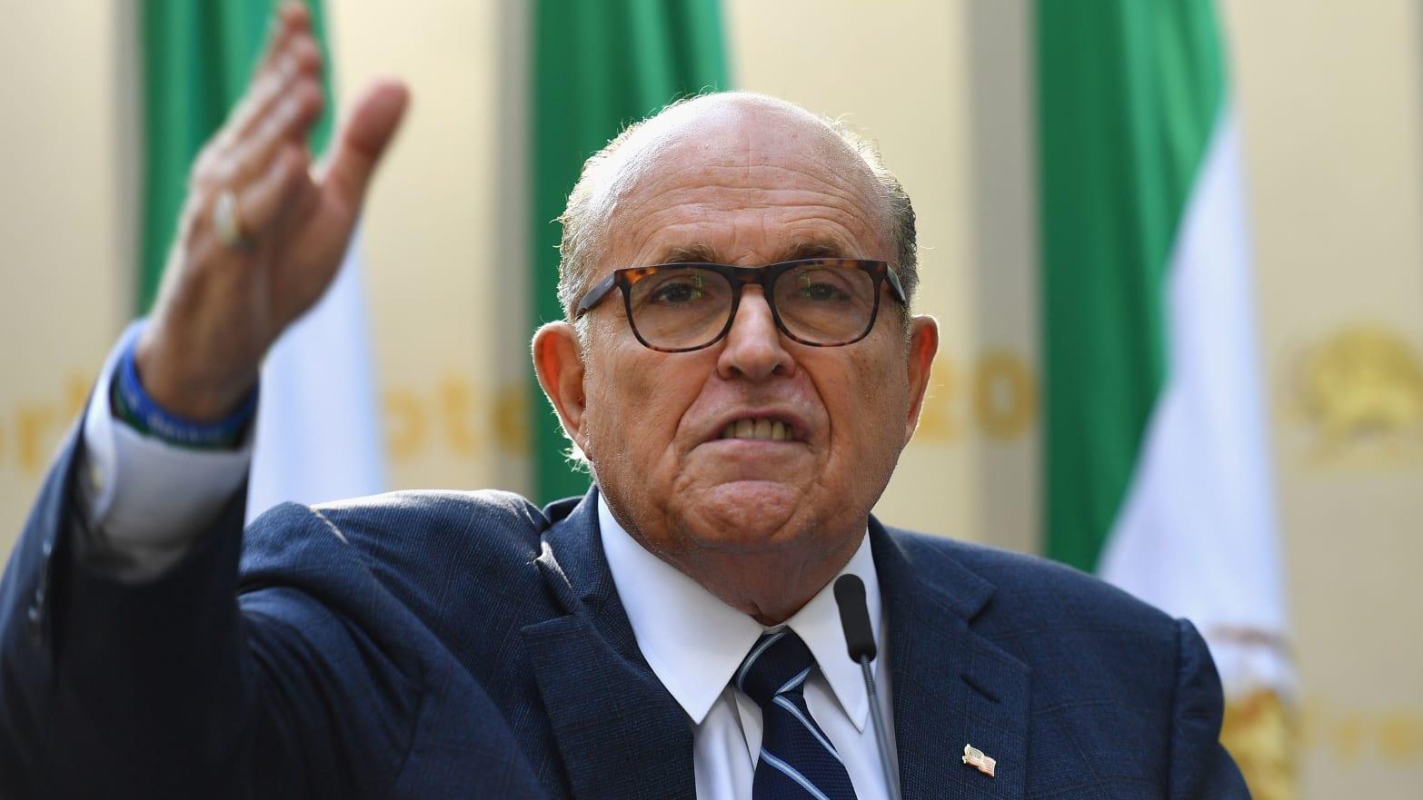 Federal Prosecutors Eyeing Rudy Giuliani's Lobbying Work After Arrest of Ukraine Associates