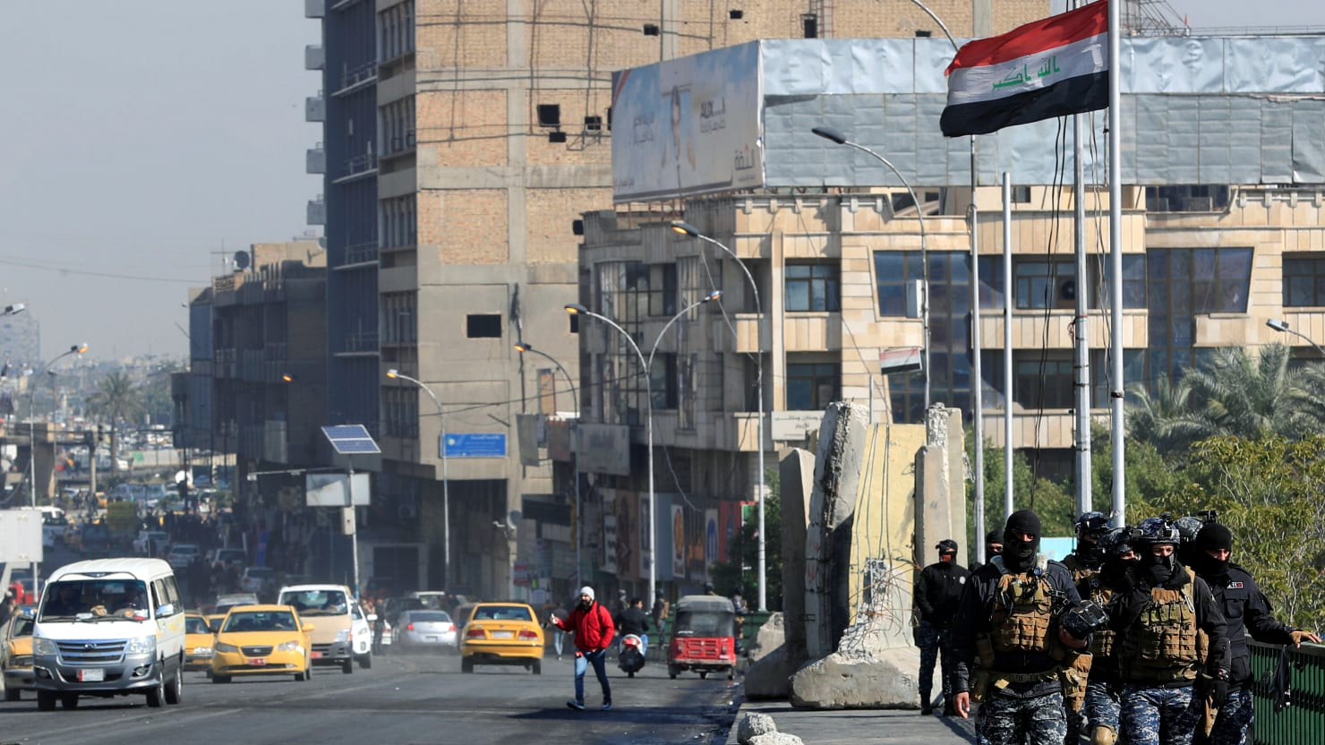 Rockets Fired at U.S. Coalition Base in Baghdad's Green Zone: Reports