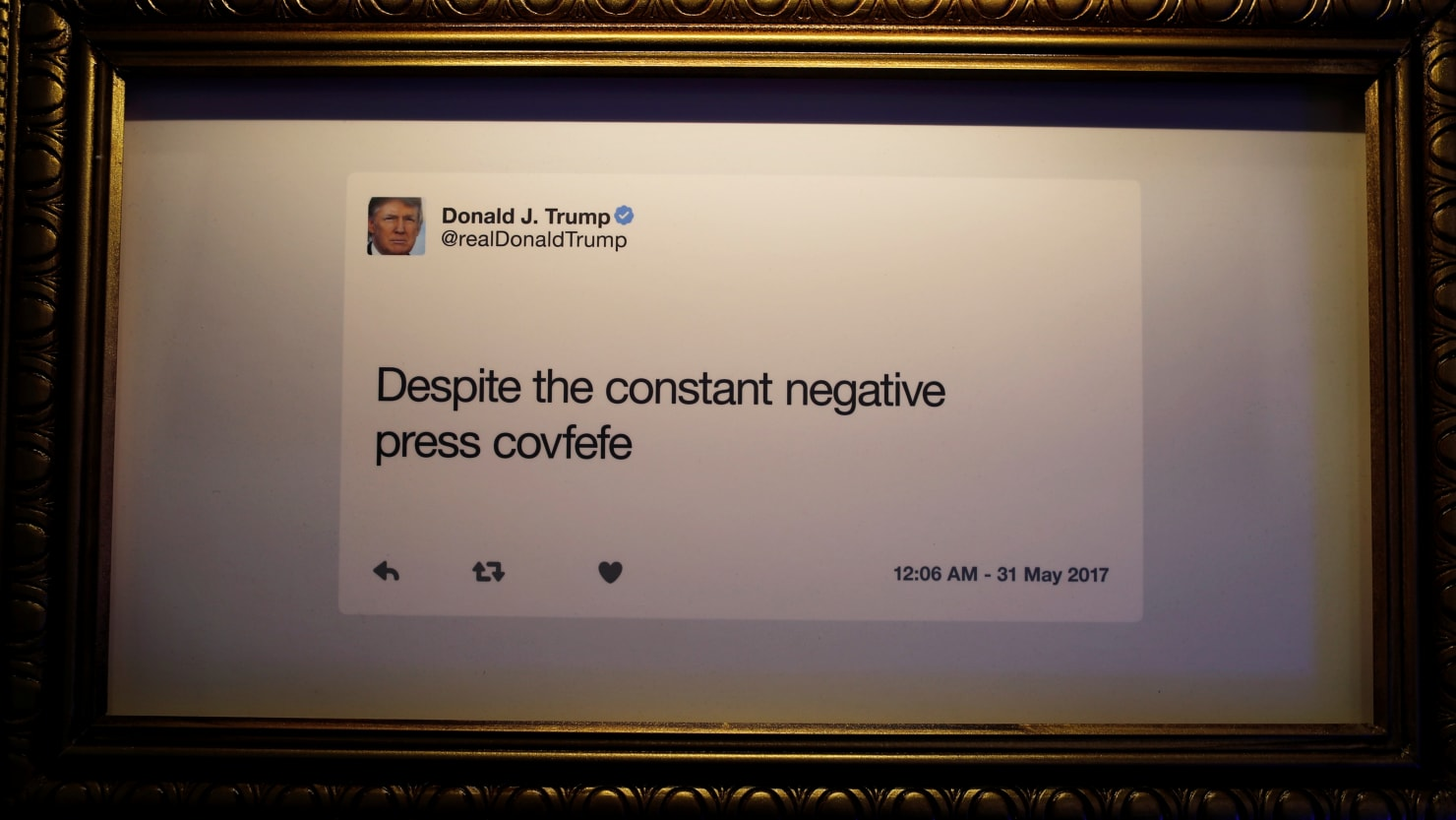 Trump, of All People, Attacks Someone's Spelling on Twitter