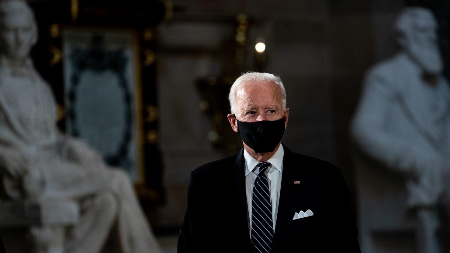 Team Biden Says 'Stupid Bastards' Comment Was Made in Jest