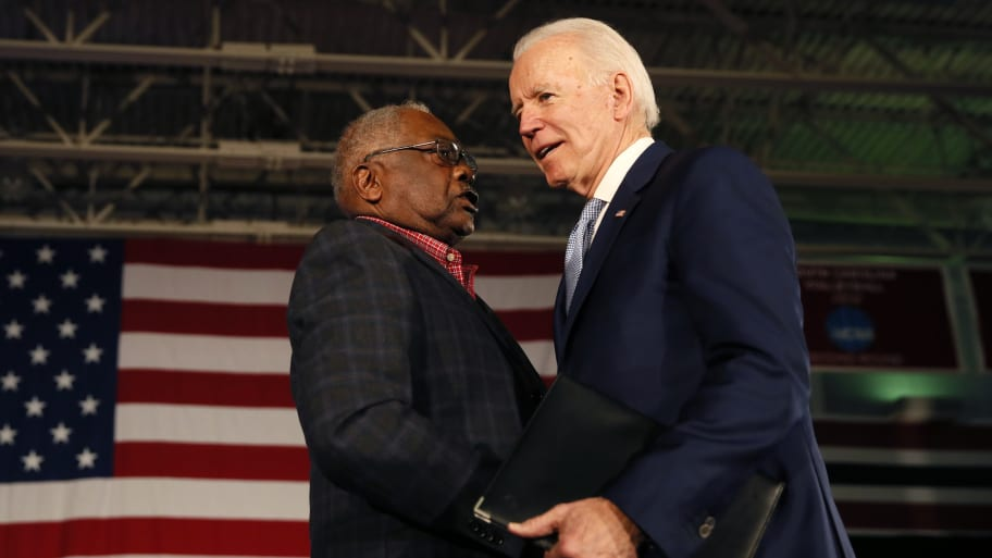 Rep. Clyburn: I Told Biden to Pick a Black Female Running Mate If He Wanted to Win