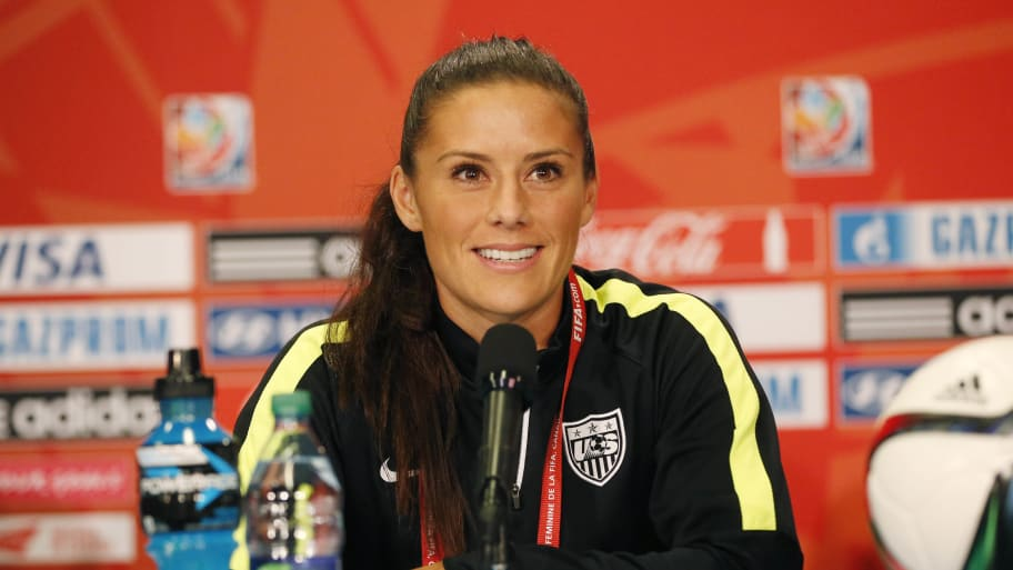 U.S. Women's Soccer Star Ali Krieger: Trump Is Angered by Women He 'Cannot Control or Grope'